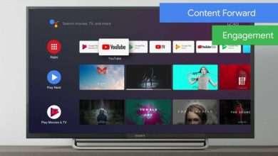 تطبيق يوتيوب على أجهزة تلفاز أندرويد