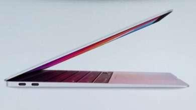 ابل تطرح نسخة ماك بوك اير - MacBook Air جديدة مع شرائح السيليكون M1