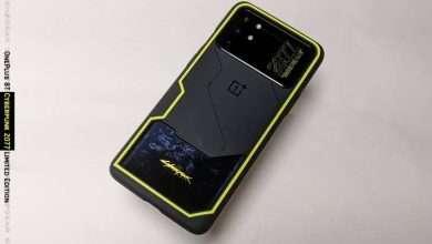 ون بلس 8 تي سايبر بانك 2077 - OnePlus 8T Cyberpunk 2077 صور جديدة للهاتف