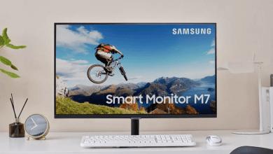 شاشة ذكية - Smart Monitor من سامسونج لأجهزة الكمبيوتر