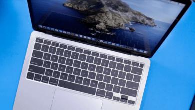 لوحة مفاتيح mac