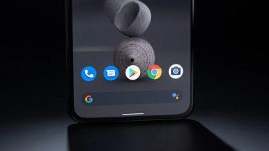 جوجل بكسل بتقنية كاميرا أسفل الشاشة