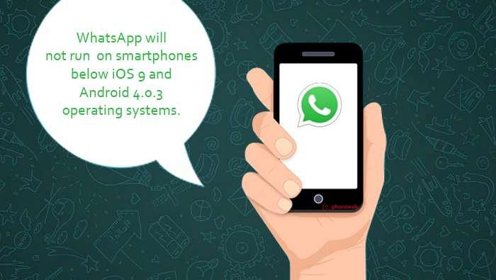 واتساب WhatsApp لن يعمل على عدد من الهواتف الذكية القديمة اعتبارًا من العام القادم