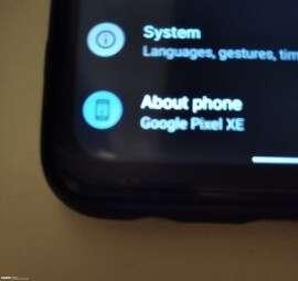 جوجل بكسل اكس اي - Google Pixel XE | هاتف جديد من عائلة بكسل قادم للأسواق
