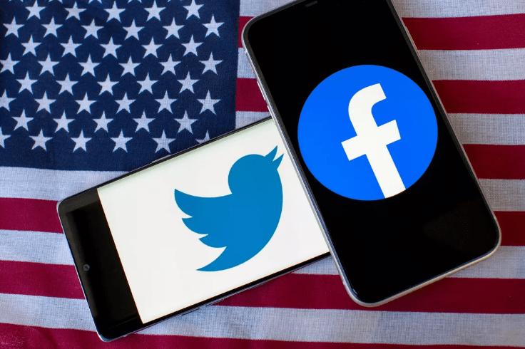 تويتر وفيسبوك ضد ترامب
