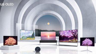 شاشات تلفاز ال جي في معرض CES 2021
