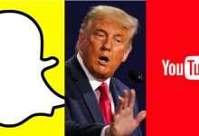 تعليق حسابات ترامب على سناب شات واليوتيوب