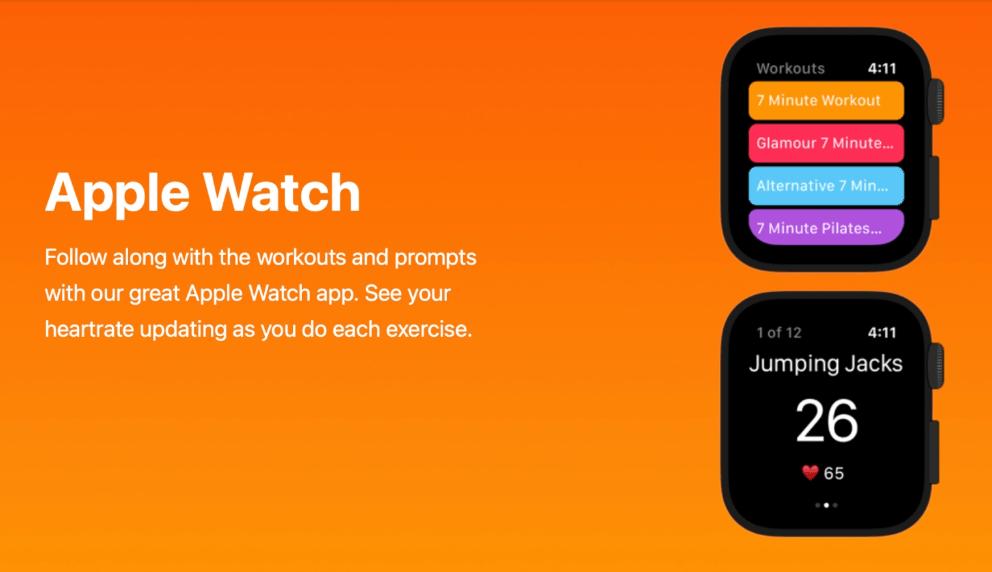 تطبيقات اللياقة لساعة آبل - Apple