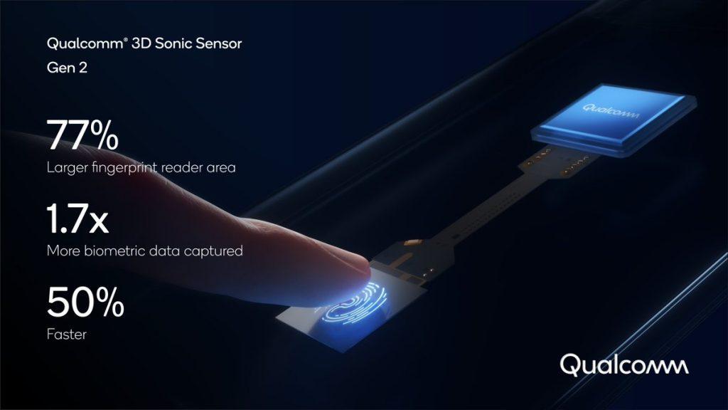 معرض CES 2021 - مستشعر بصمة الاصبع 3D Sonic الجديد من كوالكوم للهواتف الذكية قادم بأداء أسرع وأمان أكثر