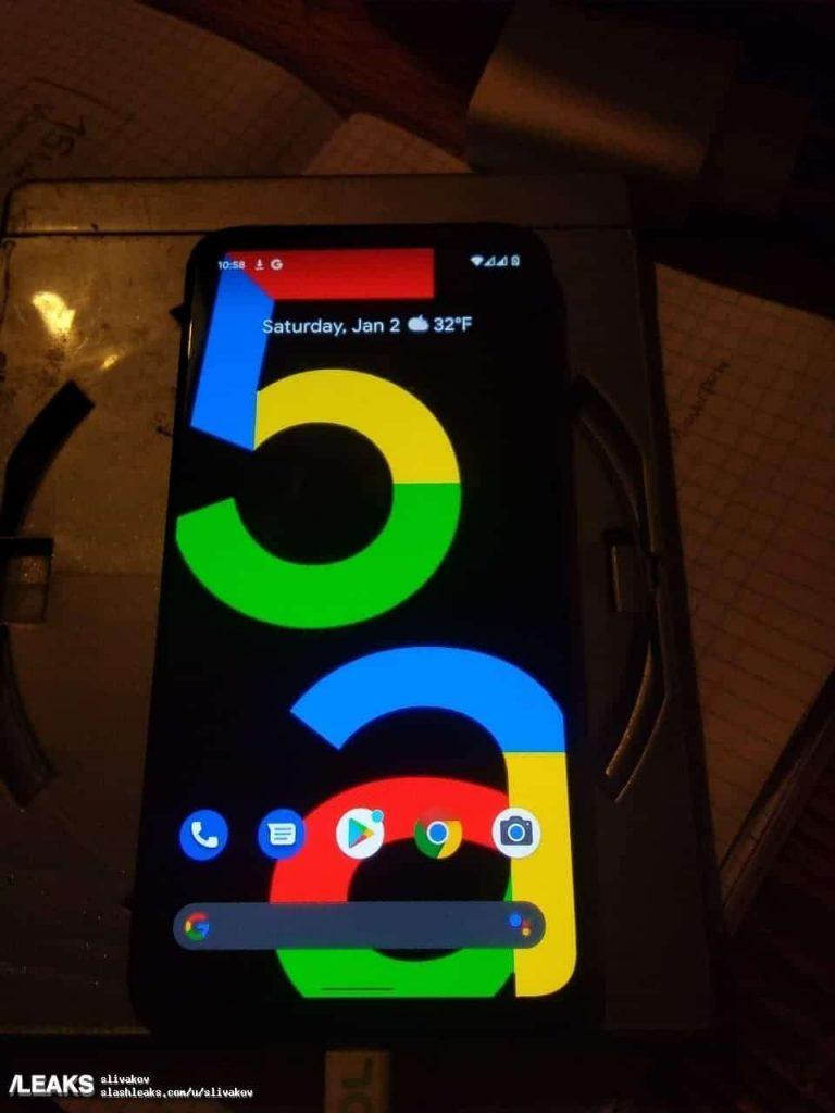 جوجل بكسل 5 اى Google Pixel 5a يظهر في صور حيّة مسرّبة لأول مرة