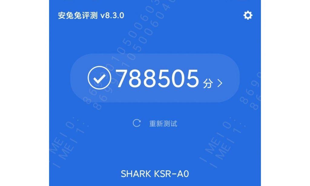 بلاك شارك 4 – Black Shark 4 يحقق نتائج رائعة على منصة اختبارات الاداء AnTuTu