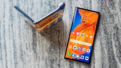 هاتف قابل للطي يشبه تصميم هواوي ميت اكس 2