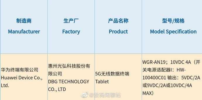 مواصفات هواوي ميت باد برو 2 - HUAWEI MatePad Pro 2 تظهر في تسريب جديد