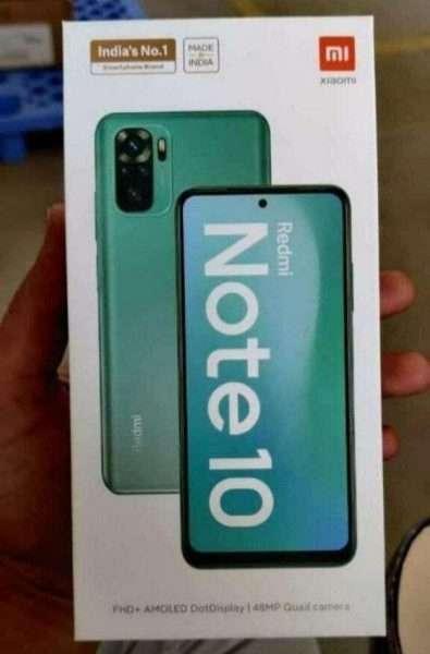 شاومي ريدمي نوت 10 – Xiaomi Redmi Note 10 تسريب صورة لصندوق الهاتف مع اقتراب موعد الإطلاق