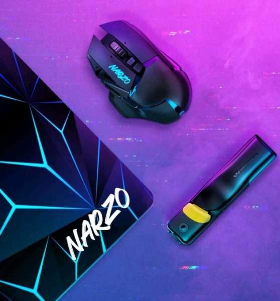 ريلمي نارزو 30 - Realme Narzo 30 السلسلة قادمة مع مجموعة ملحقات ألعاب جديدة