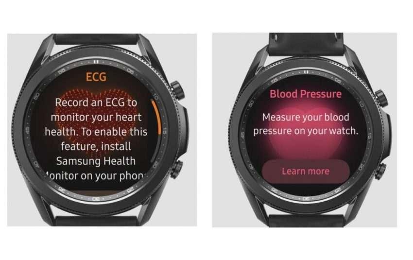 ساعة سامسونج اكتيف 2 و سامسونج واتش 3 تحصلان على اثنتين من أهم المميزات الصحية