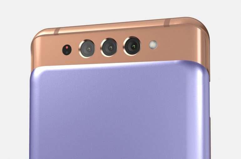 جالكسي اي 82 - Galaxy A82 بتصميم منزلق مثل هواتف زمان