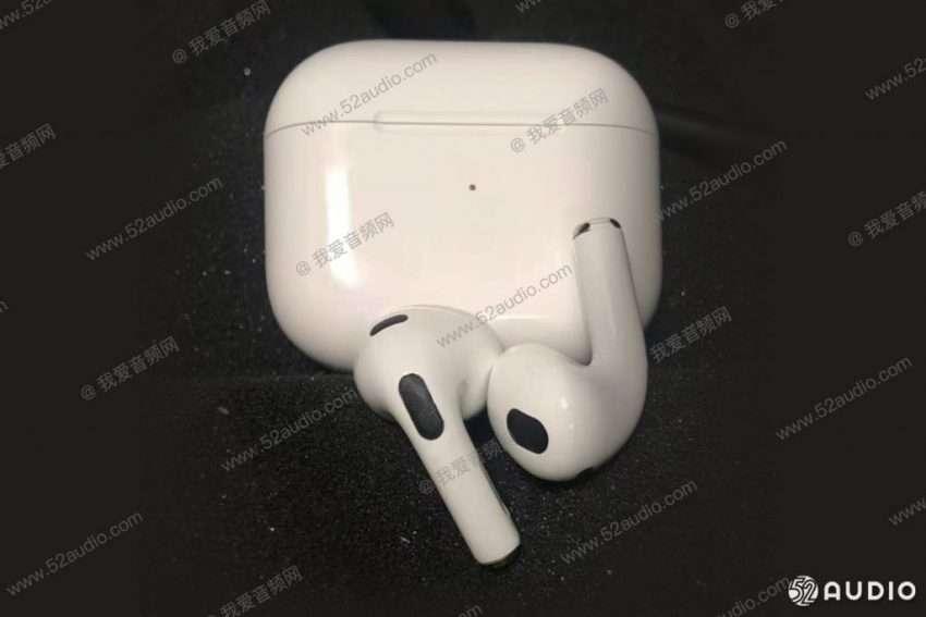 آبل ايربودز 3 - Apple AirPods 3 تسريب صور جديدة لسماعات آبل القادمة