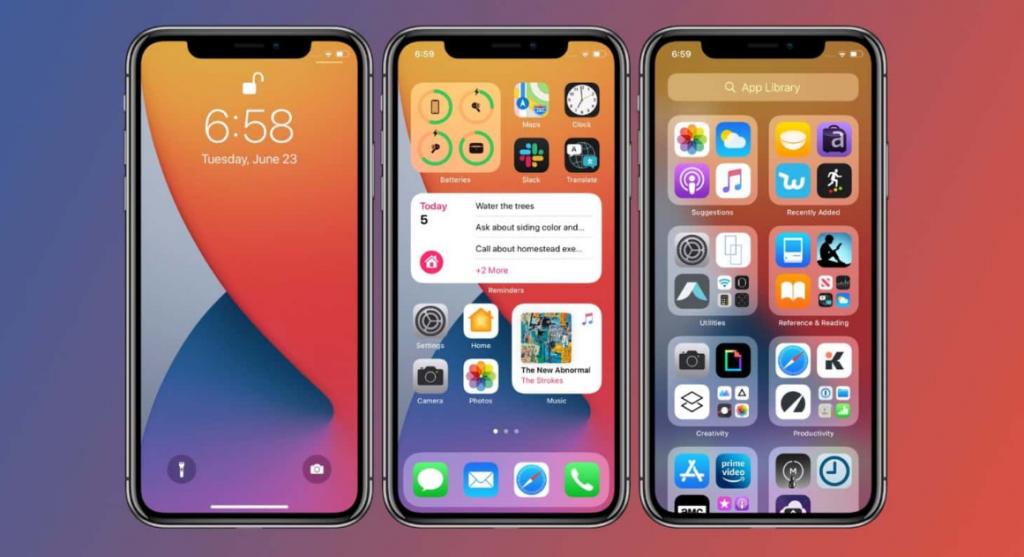 كيفية إخفاء التطبيقات في الايفون في نظام التشغيل اي او اس iOS 14