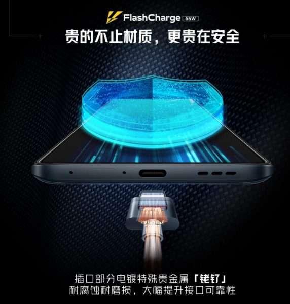 اي كيو او او نيو 5 - iQOO Neo5 ملصق ترويجي يكشف سعة البطارية وتقنية الشحن السريع