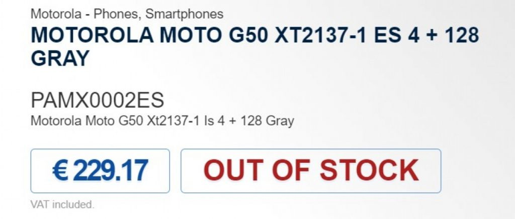 موتو جي 50 - Moto G50 تسريبات جديدة تكشف سعر الهاتف