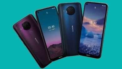 هواتف قد تشبه تصميم نوكيا جي 10