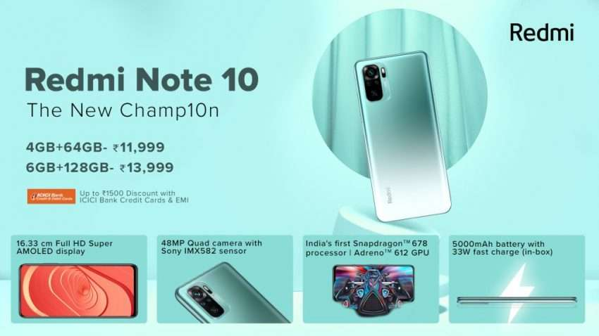 سعر ومواصفات ريدمي نوت 10 - Redmi Note 10 رسميًا