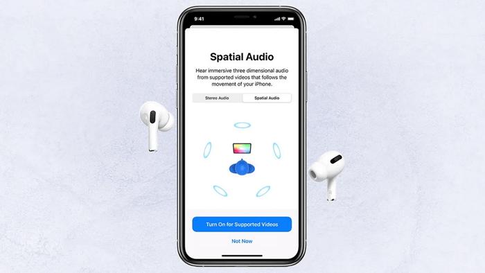 سماعات آبل تدعم الصوت المكاني spatial audio فما هو وكيفية تفعيله