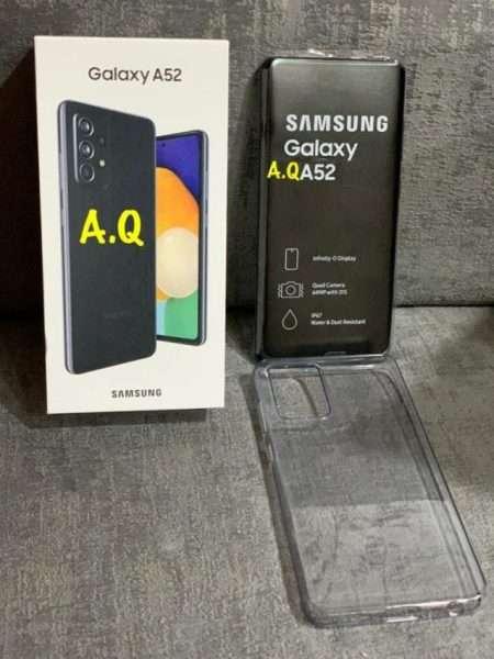 مواصفات سامسونج جالكسي اي 52 – Samsung Galaxy A52 وصور حية مع محتويات الصندوق