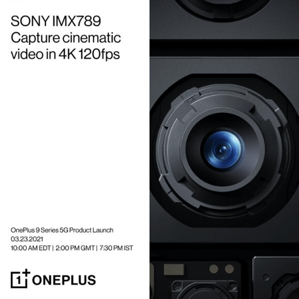 ون بلس 9 برو - OnePlus 9 Pro ملصق ترويجي يكشف مستشعر الكاميرا الخاصة بالهاتف