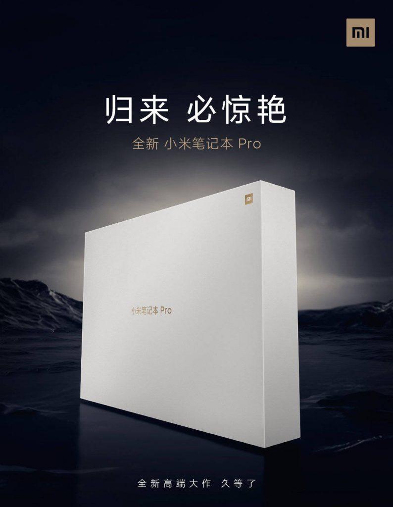 شاومي مي نوت بوك برو Xiaomi Mi Notebook Pro قادم بشاشة بدقة عالية ومواصفات أخرى رائعة