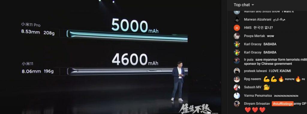 سعر ومواصفات شاومي مي 11 برو - Xiaomi Mi 11 Pro والمميزات والعيوب رسميًا