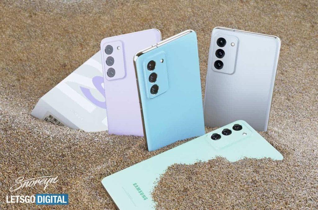 جالكسي اس 21 اف اي – Galaxy S21 FE أول نظرة على تصميم النسخة الجديدة