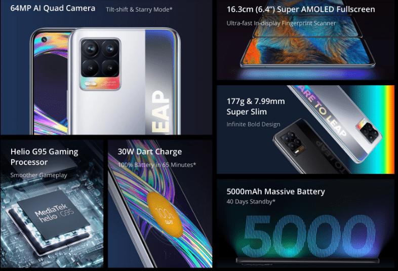 سعر ومواصفات ريلمي 8 - Realme 8 رسميًا