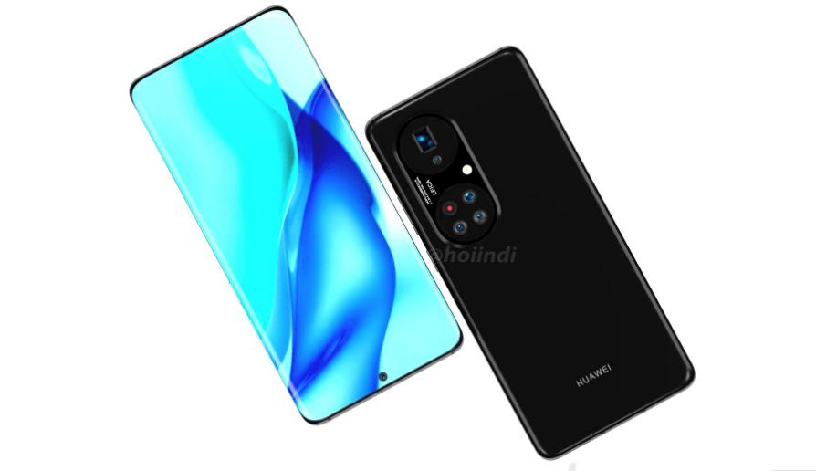 هواوي بي 50 برو بلس - Huawei P50 Pro plus تسريب يكشف صورًا عالية الدقّة للهاتف