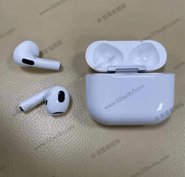 آبل ايربودز 3 - Apple AirPods 3 تسريب جديد يكشف صورًا حصريّة للسماعات
