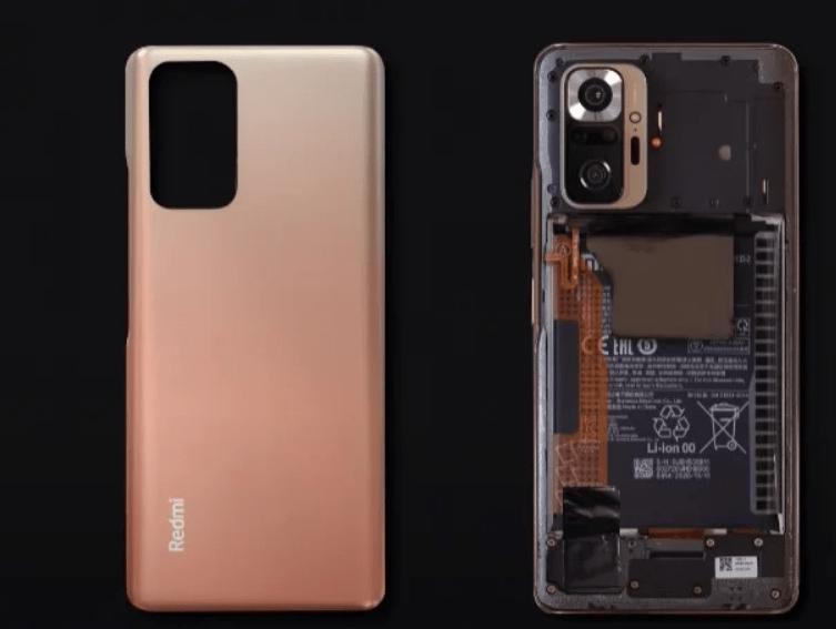 ريدمي نوت 10 برو - Redmi Note 10 Pro الشركة تنشر تفكيكًا رسميًا للهاتف