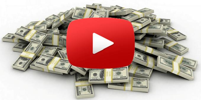 ضرائب يوتيوب