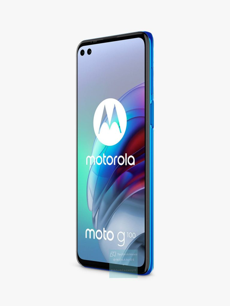موتو جي 100 - Moto G100 تسريب جديد يكشف الصور الرسمية للهاتف