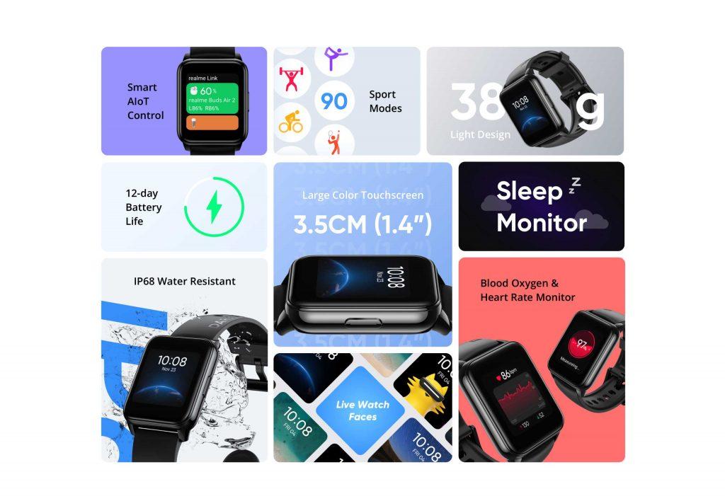 سعر ومواصفات ريلمي ووتش 2 - realme Watch 2 رسميًا
