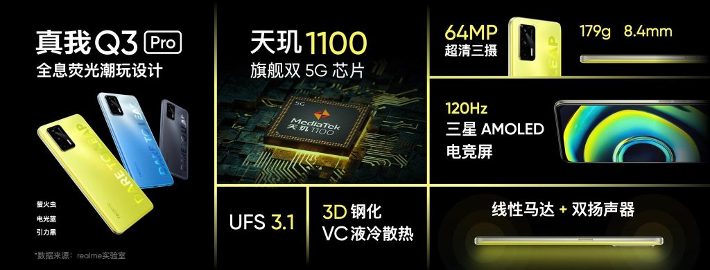 ريلمي كيو 3 برو - realme Q3 Pro السعر والمواصفات رسميًا