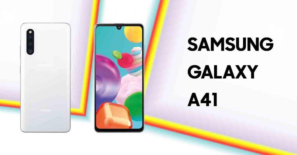 جالكسي اى 41 – Galaxy A41 يتلقى تحديث اندرويد 11 وواجهة One UI 3.1