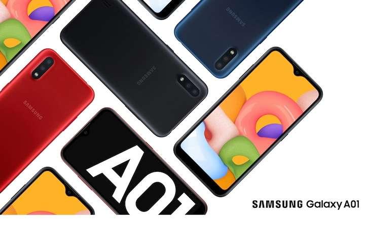 جالكسي اى 01 - Galaxy A01 يتلقى تحديث Android 11 وواجهة One UI Core 3.1