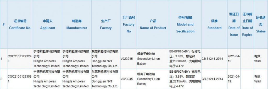 جالكسي زد فولد 3 - Galaxy Z Fold 3 هل سيجلب تحسينات الكاميرا التي طال انتظارها ؟