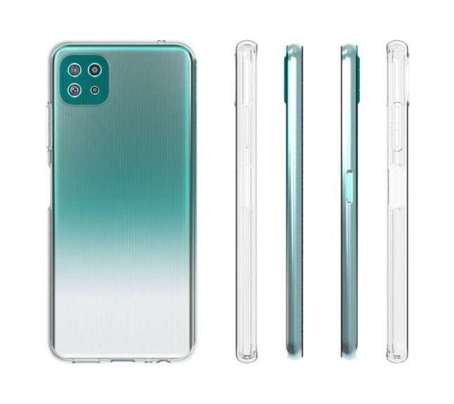 جالكسي اي 22 – Galaxy A22 يظهر بغطاء حماية خلفي في صور جديدة قبل الإطلاق الرسمي