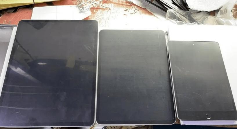 ايباد برو 2021 وايباد ميني 6 تسريب يكشف الصور الحقيقية للأجهزة