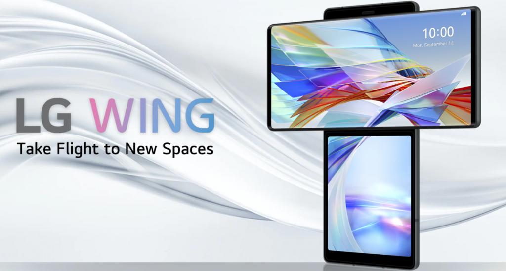 مراجعة ال جي وينج أغرب هاتف في العالم وآخر هواتف الشركة LG Wing
