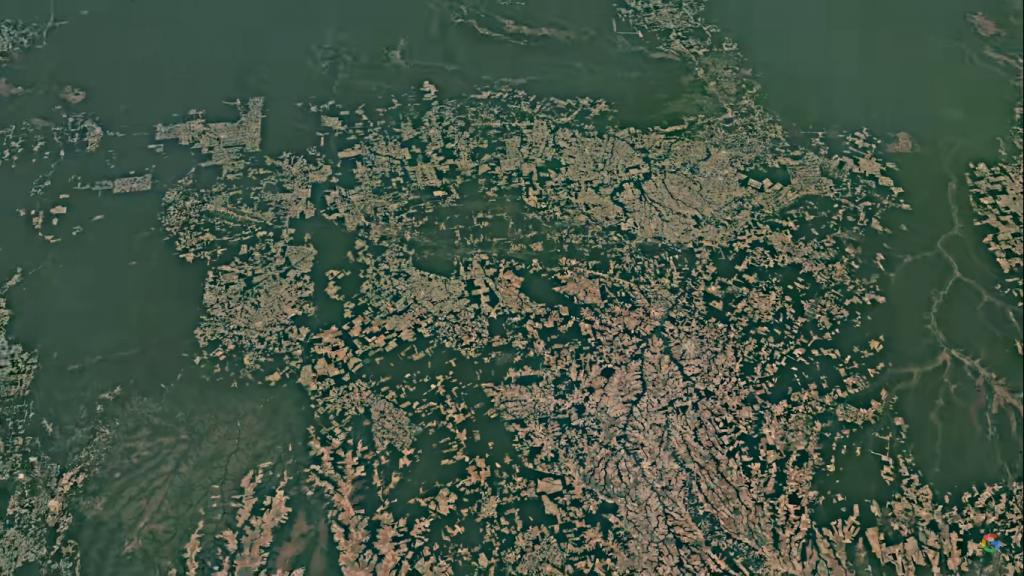 جوجل إيرث يقدم ميزة جديدة تظهر التغير في جغرافية الكوكب منذ 1984 حتى 2020