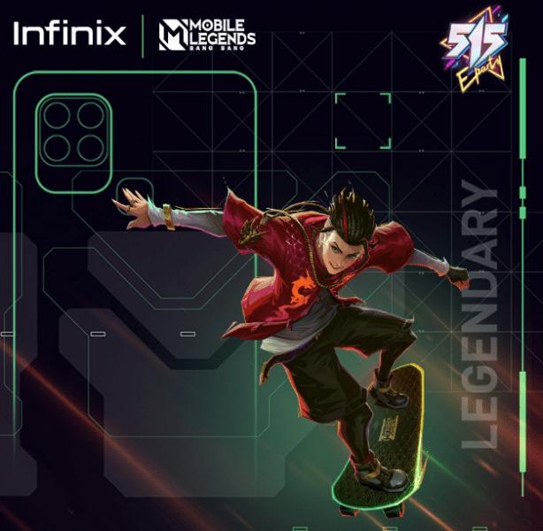 انفنيكس هوت 10 اس - Infinix Hot 10S الشركة تنشر ملصقات ترويجية للهاتف