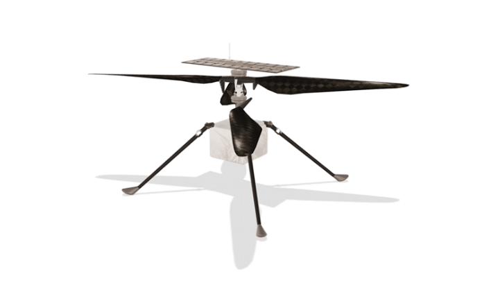 طائرة إنجينيوتي تنجح في الإقلاع من فوق سطح المريخ في رحلة هي الأولى من نوعها